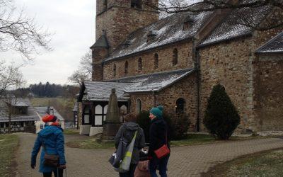 März: Zu Viert im Westerwald