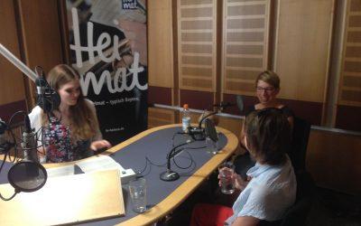 Juni: Radiotermin beim Bayerischen Rundfunk!