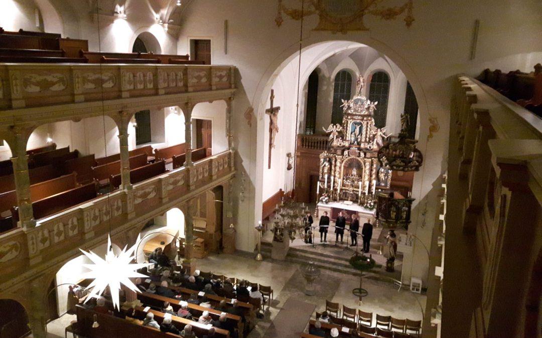 Advent in Pegnitz und Ludwigsburg